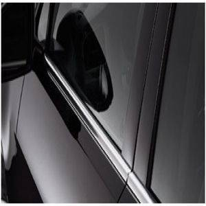 Premium Quality Car Lower Window Chrome Garnish / Chrome Window Garnish Molding for Maruti Suzuki Old Swift 2005 (4 Pcs)