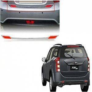 AUTO ATTIRE Premium Quality XUV 500 Chrome Plated Dicky Garnish / Back Door Garnish / Trunk lid Garnish