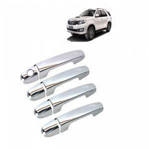 AUTO ATTIRE Premium Quality Fortuner OLD Chrome Plated handle cover / Catch Cover