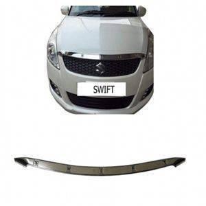 AUTO ATTIRE Premium Quality Swift Chrome Plated Bonnet Bornet Patti Garnish