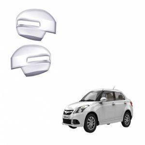 AUTO ATTIRE Premium Quality Swift Dzire / Dezire Chrome Plated Mirror Cover (2015-2016)