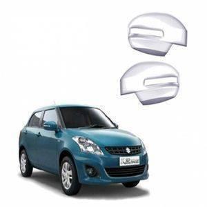 AUTO ATTIRE Premium Quality Swift Dzire / Dezire Chrome Plated Mirror Cover (2011-2014)