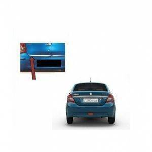 AUTO ATTIRE Premium Quality Swift Dzire / Dezire Chrome Plated Dicky Patti Garnish / Back Door Garnish / Trunk lid garnish