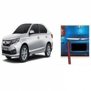 AUTO ATTIRE Premium Quality AMAZE 2018 Chrome Plated Back Rear Dicky Patti Garnish / Back Door Garnish / Trunk Lid Garnish (01 Pc)