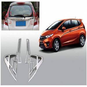 AUTO ATTIRE Premium Quality JAZZ Chrome Plated Tail Light Cover Garnish  (02 Pcs)