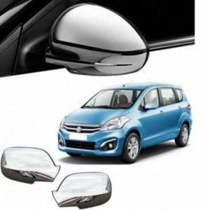 AUTO ATTIRE Premium Quality ERTIGA New Chrome Plated Mirror Cover (02 Pcs)
