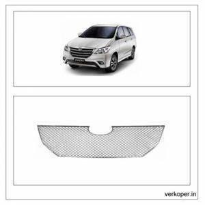 AUTO ATTIRE Premium Quality Innova Chrome Plated Front Grill / Radiator Grill (2013- 2015) 1 Pc Upper