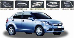 Auto ATTIRE SWIFT DZIRE 2015 CHROME COMBO KIT