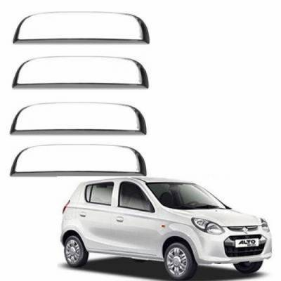 - Premium Quality Chrome Door Handle Latch Cover - Maruti Suzuki Alto 800 (Set of 4)