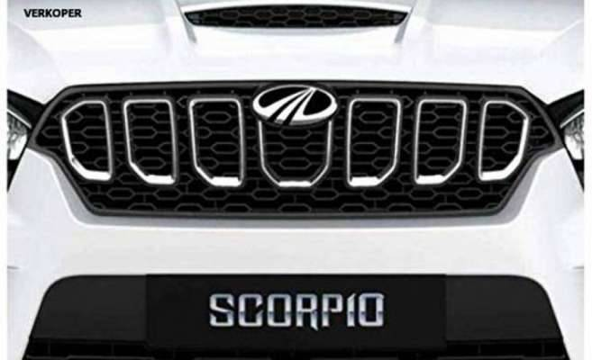 AUTO ATTIRE Premium Quality Latest Chrome Plated Front Grill (07 Pcs Rings Only) for SCORPIO - Front Radiator Grill