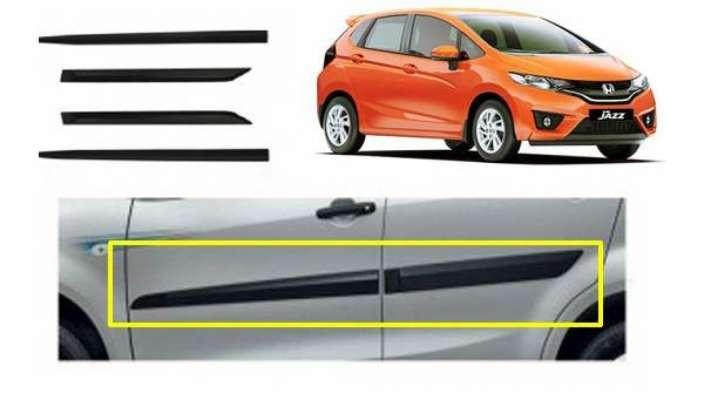 Car Door Side Beading for Jazz - Side moulding - Colour: Matte Black