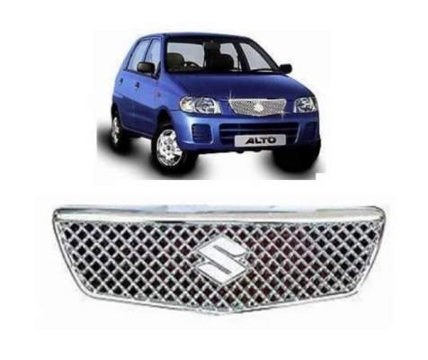 AUTO ATTIRE Premium Quality Alto Old Chrome Plated Front Grill Radiator (01 Pc)