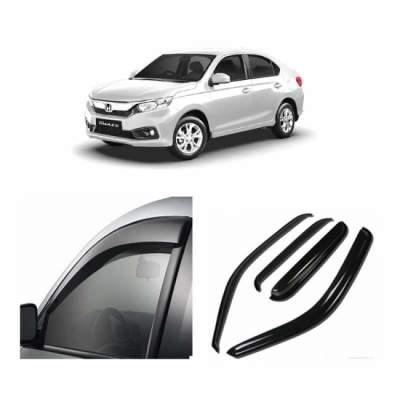 UNBREAKABLE Car Rain Visor/ Car Wind Visor/ Car Door Visor/ Window Deflector Honda Amaze (4 Pcs)