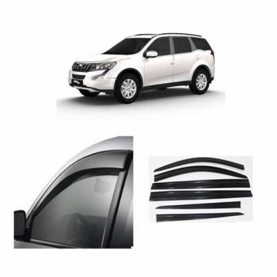 UNBREAKABLE Car Rain Visor/ Car Wind Visor/ Car Door Visor/ Window Deflector Mahindra XUV 500 (6 Pcs)