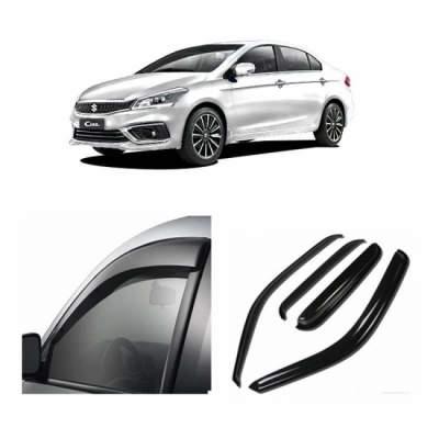 UNBREAKABLE Car Rain Visor/ Car Wind Visor/ Car Door Visor/ Side Window Deflector Maruti Ciaz (Set of 4)