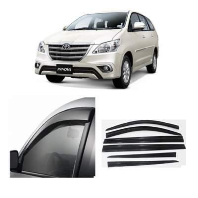 UNBREAKABLE Car Rain Visor/ Car Wind Visor/ Car Door Visor/ Window Deflector Toyota Innova (6 Pcs)