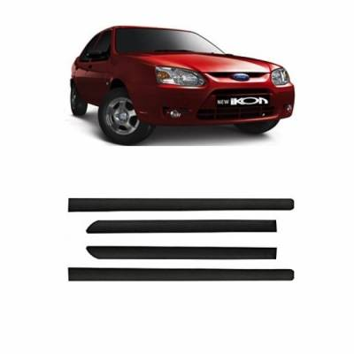 Car Door Side Beading for Ikon - Side moulding - Colour: Matte Black(Set