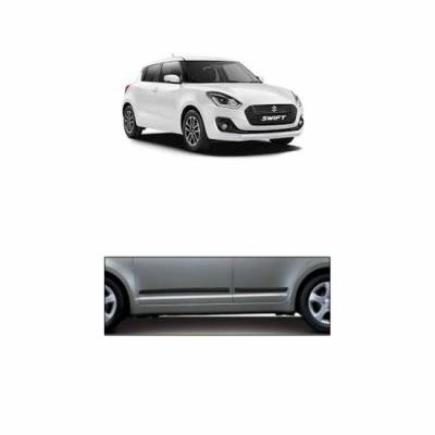 Car Door Side Beading - Maruti New Swift Material: High Grade Polypropylene (PP) Thermoplastic with 3M Adhesive Tape, Colour: Matte Bl