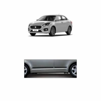 Car Door Side Beading for New Swift Dzire 2017 - Side moulding - Matte Black Set of 4