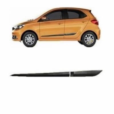 Car Door Side Beading for Tiago - Side moulding - Colour: Matte Black
