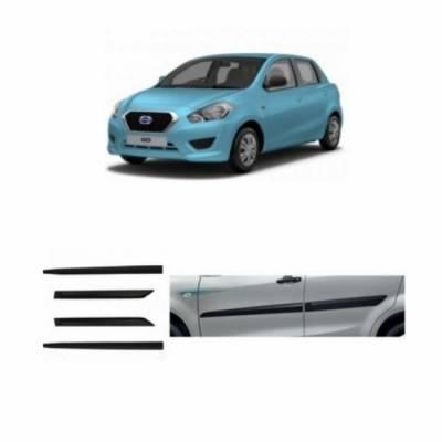 Car Door Side Beading for NISSAN Datsun RediGo - Side moulding - Colour: Matte Black
