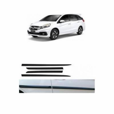 Car Door Side Beading for Mobilio - Side moulding - Colour: Matte Black
