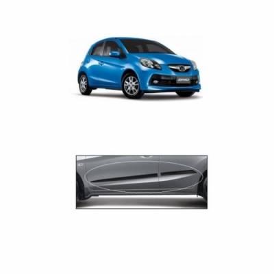Car Door Side Beading for Brio - Side moulding - Colour: Matte Black