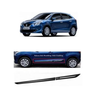 Car Door Side Beading for New Baleno - Side moulding - Colour: Matte B