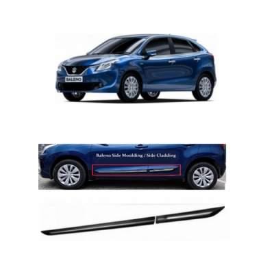 Car Door Side Beading for New Baleno - Side moulding - Colour: Matte B