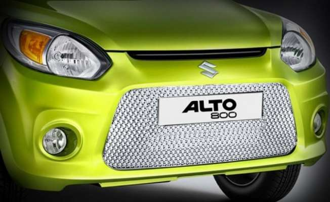 Chrome Grill for Alto 800 new - Front Grill - Bentley type