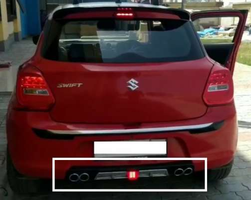 DIFFUSER WITH F1 LED FLASHER FOR Suzuki Swift (Model 2018 only)