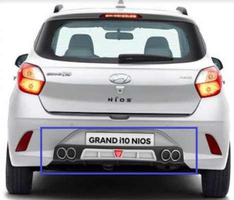 DIFFUSER WITH F1 LED FLASHER FOR Hyundai i10 NIOS