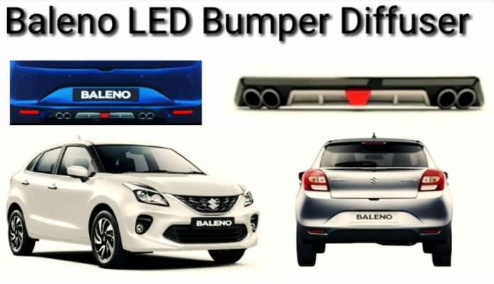 DIFFUSER WITH F1 LED FLASHER FOR Suzuki BALENO