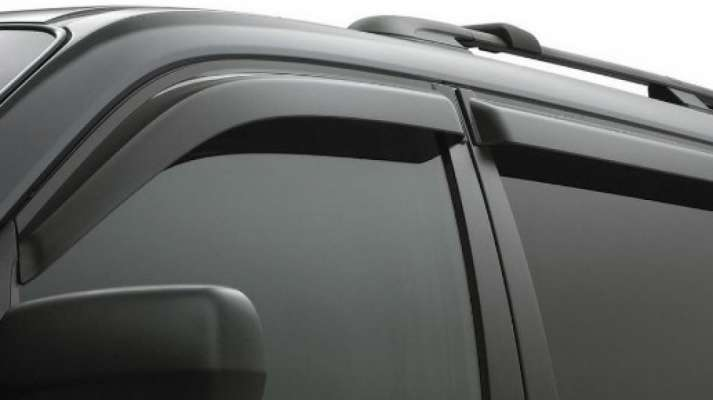 Door Visor for Maruti Suzuki IGNIS / Car Rain Visor/ Car Wind Visor/ Side Window Deflector (4 Pcs)