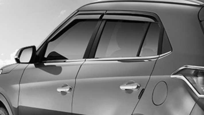 Door Visor for Hyundai Creta / Car Rain Visor/ Car Wind Visor/ Side Window Deflector (4 Pcs)