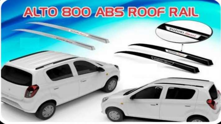 Roof Rails for Maruti Suzuki Alto 800 (Model 2019 & 2016)
