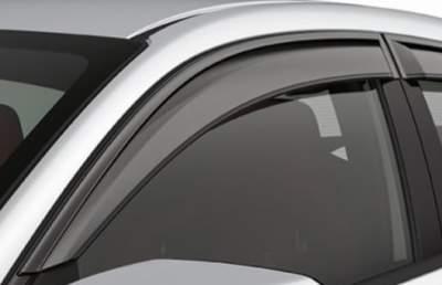 Car Door Visor for Renault Kwid / Car Rain Visor/ Car Wind Visor/ Window Deflector (4 Pcs)