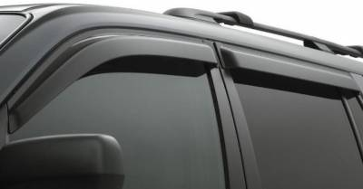 Door Visor for Mahindra XUV 500 / Car Rain Visor/ Car Wind Visor/ Window Deflector (6 Pcs)