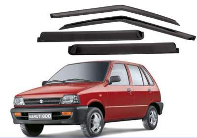 Door Visor for Maruti 800 Car /Car Rain Visor/ Car Wind Visor/ Rain Guard (4 Pcs)