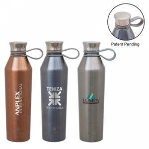 Tactware Diamond Hammer 100% Pure Copper Water Bottle Volume  1000 ML With Lid for Storage Water Leak Proof , Good Health Benefits Yoga, Ayurveda Gift